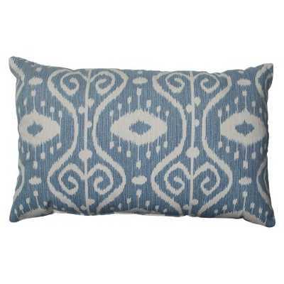 Empire Throw Pillow Blue - Pillow Perfect - Target