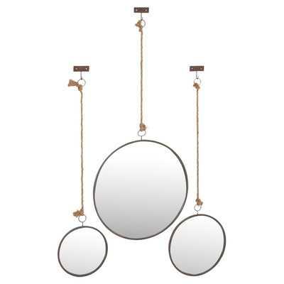 3 Piece Wall Mirror Set - Wayfair