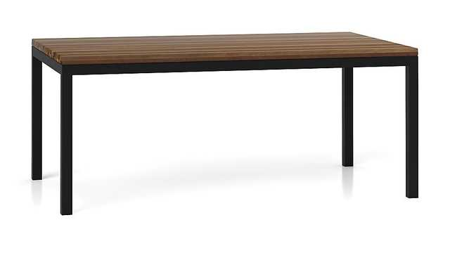 """Parsons Dining Table - 60"""" - Crate and Barrel"""