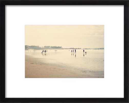 "Beach Life Art Print - 11"" x 8"",  Black Frame - Artfully Walls"