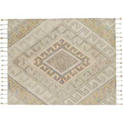 Faded shag rug 3'x5' - CB2