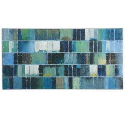 Glass Tiles Canvas - Hudsonhill Foundry