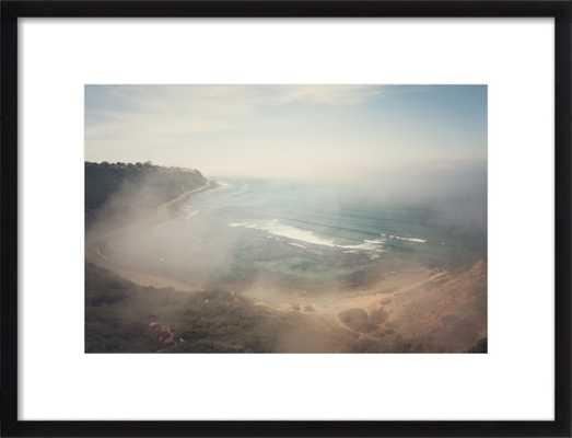 "California Coast 20"" x 14"" Black Frame - Artfully Walls"