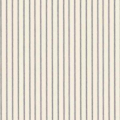 Vintage Ticking Stripe Black Fabric by the Yard - Ballard Designs