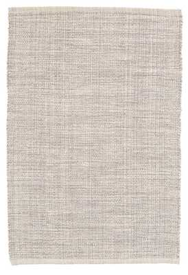 Marled Grey Woven Cotton Rug - Dash and Albert
