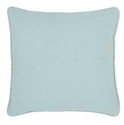 """Stone Washed Linen Sky Decorative Pillow 20""""x20"""" - Pine Cone Hill"""