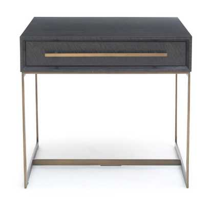 ALLURE DRAWER SIDE TABLE - Mitchell Gold + Bob Williams
