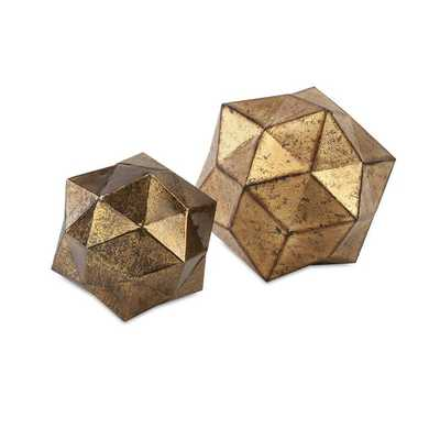 Anwell Deco Balls - Set of 2 - Mercer Collection