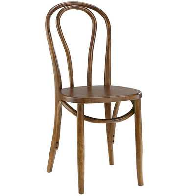 EON DINING SIDE CHAIR IN WALNUT - Modway Furniture