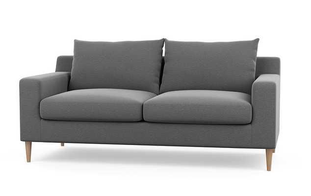 """Sloan Sofa - Graphite - Natural Oak - 67"""" - Interior Define"""