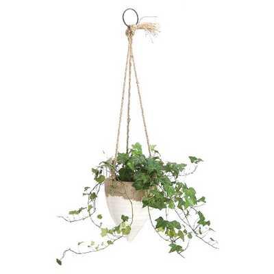 """Jute Hanging Planter (8.5"""") - Target"""
