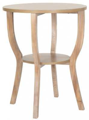 RHODES ROUND PEDESTAL ACCENT TABLE - Arlo Home