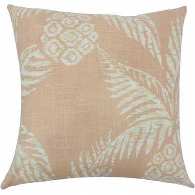 Zya Floral Pillow Blush - Linen & Seam