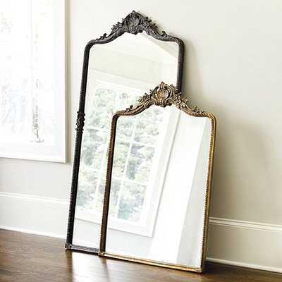 "Beaudry Mirror - Antique Brass - 64""x31"" - Ballard Designs"