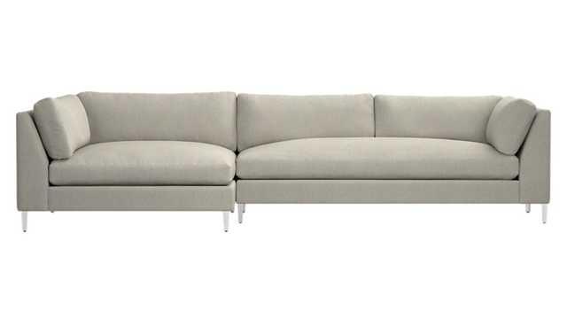 decker 2-piece sectional sofa - CB2