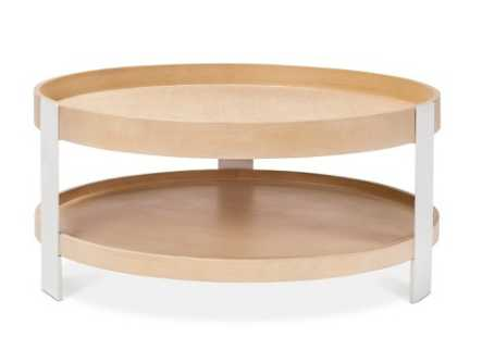 Coffee Table White/Natural - Modern by Dwell Magazine - Target