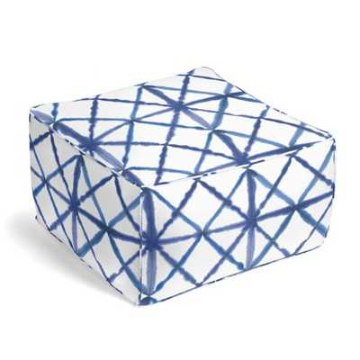 Pixel Allure Square Pouf - Loom Decor