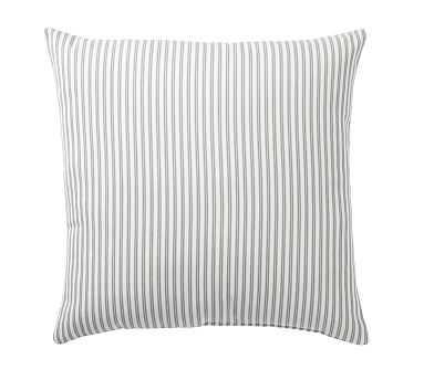 """Thatcher Indoor/Outdoor Pillow, 22"""", Celadon - Pottery Barn"""