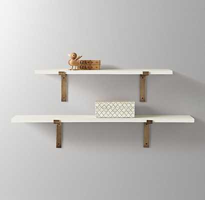 Industrial Plank Shelf - White - RH Baby & Child