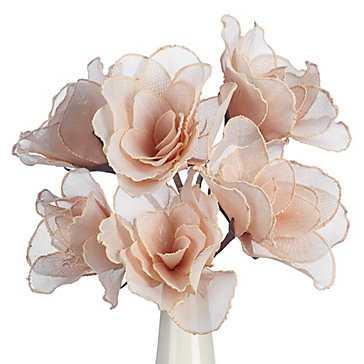 Linen Classic Flower - Set of 3 - Z Gallerie