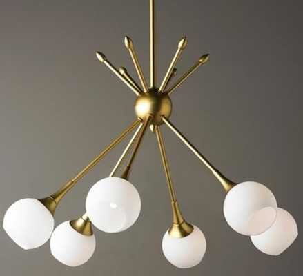 Mid-Century Modern Mobile Chandelier - 6 Light - Shades of Light