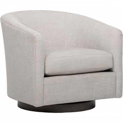 Coltrane Swivel Chair, Dame Feather - High Fashion Home