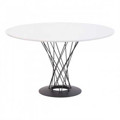 Spiral Dining Table White - Zuri Studios