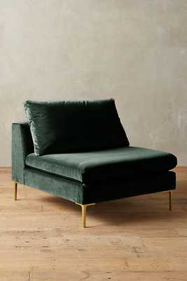 Velvet Edlyn Chair - Forest - Anthropologie
