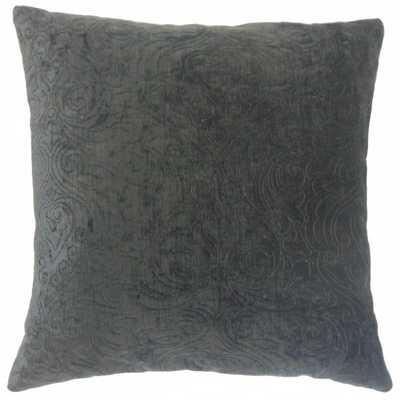 """Hertzel Solid Pillow Ore -22"""" x 22""""- high-fiber polyester pillow insert - Linen & Seam"""