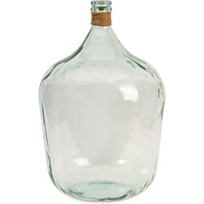 Boccioni Large Recycled Glass Jug - Overstock