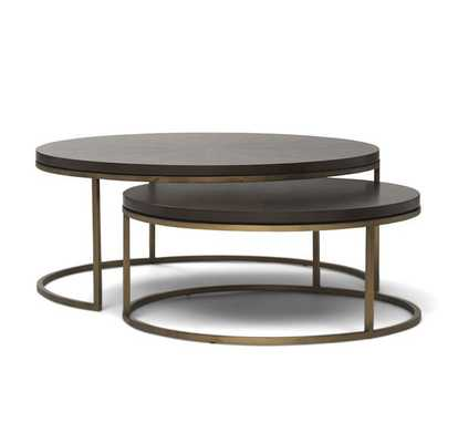 BASSEY NESTING COCKTAIL TABLE - Mitchell Gold + Bob Williams