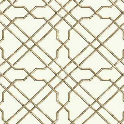 Bamboo Trellis-AT7074 - York Wallcoverings