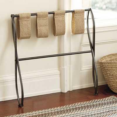 Gaspar Luggage Rack - Ballard Designs