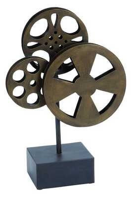 Metal Movie Reel Elegant Accessory For Conference Room - Houzz
