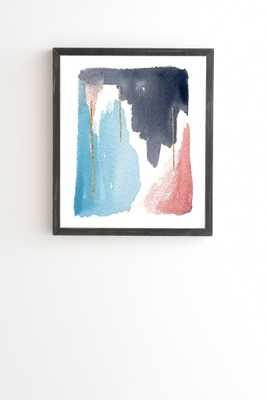 MOVING MOUNTAINS Wall Art - 8x9.5 - Black Frame - Wander Print Co.