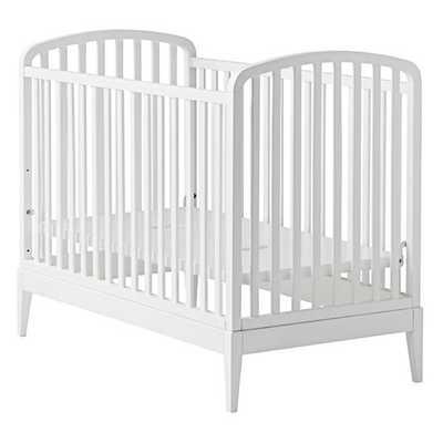 Archway Crib (White) - Land of Nod