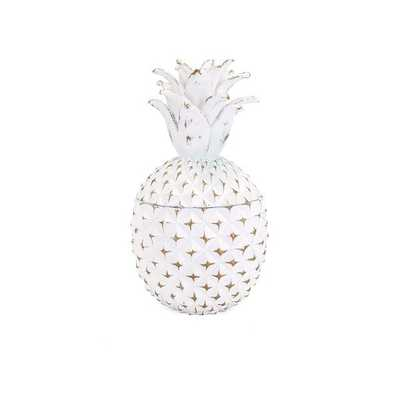 Brianna Small Pineapple Box - Mercer Collection