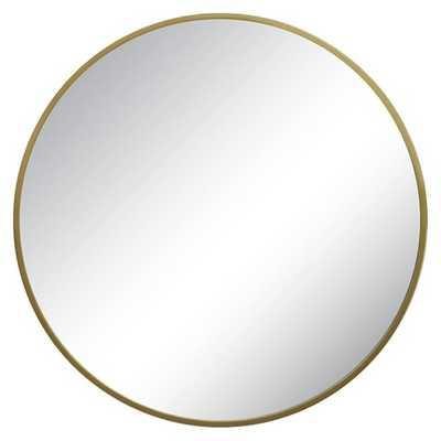 Round Decorative Wall Mirror Brass - Threshold™ - Target