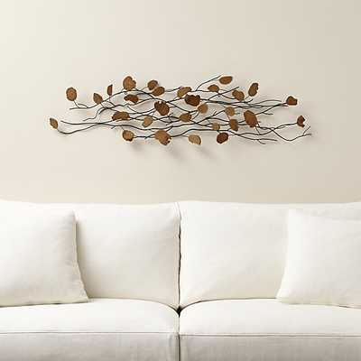 Teakroot Discs Wood Wall Art, Single - Crate and Barrel