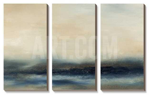 "WATER II - 38"" x 24"" - Canvas - art.com"