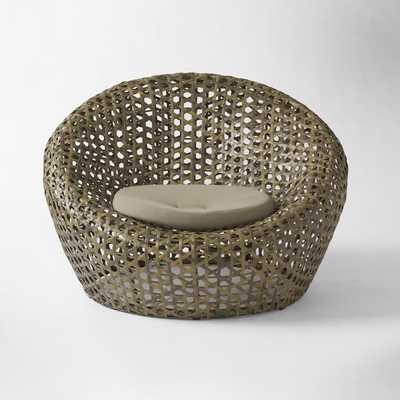 Montauk Nest Chair - Antique Palm - West Elm