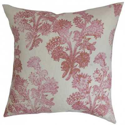 Eara Floral Pillow Rosehips - Linen & Seam