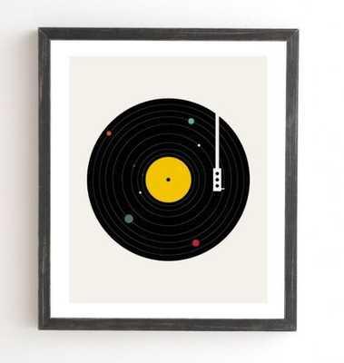 "MUSIC EVERYWHERE, 8x9.5"" - Wander Print Co."