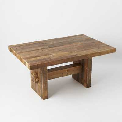 """Emmerson™ Reclaimed Wood Dining Table 62"""" - West Elm"""