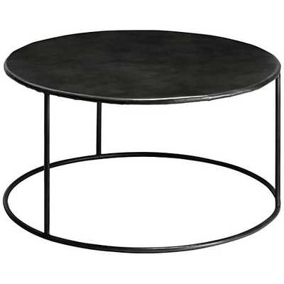 Jamie Young Americana Iron Round Coffee Table - Lamps Plus