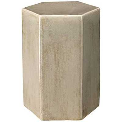 Jamie Young Porto Small Pistachio Ceramic Side Table and, 1 - Lamps Plus