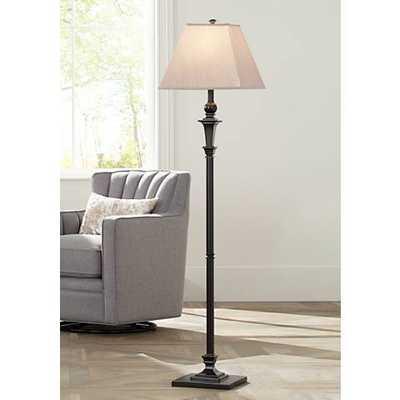 Madison Italian Bronze Floor Lamp - Lamps Plus