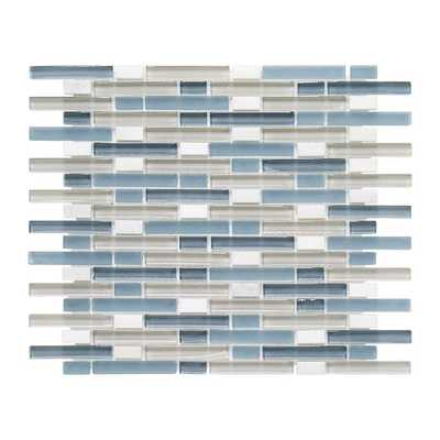 Cyclove 10.875 in. x 13.25 in. x 8 mm Glass/Stone Mosaic Wall Tile - Home Depot