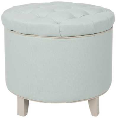 AMELIA TUFTED STORAGE OTTOMAN - Arlo Home