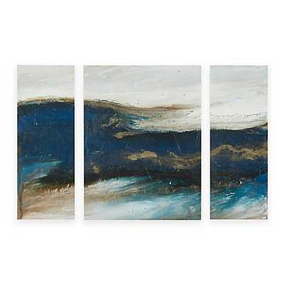 Ink+Ivy Rolling Waves Wall Art (Set of 3) - Bed Bath & Beyond